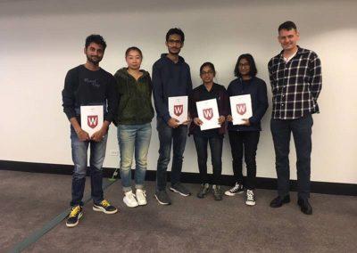 Mtech Students at WSU